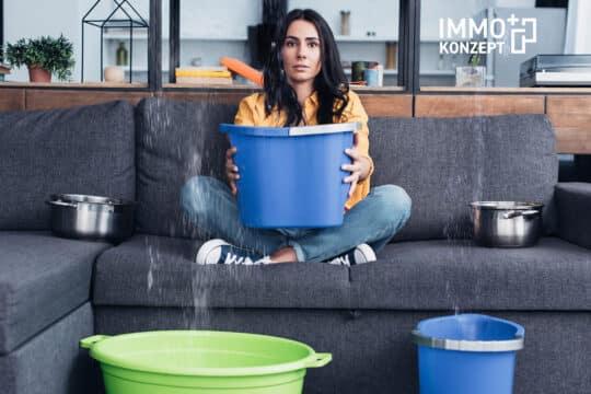 Wasserschaden Mietwohnung Haftung Mieter